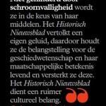 'Niet gehinderd door schroomvalligheid' – opkomst en bloei van Historisch Nieuwsblad'