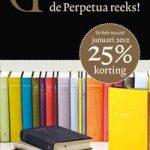 Perpetua-reeks viert verschijnen van het 50e deel – hele maand januari 25% korting