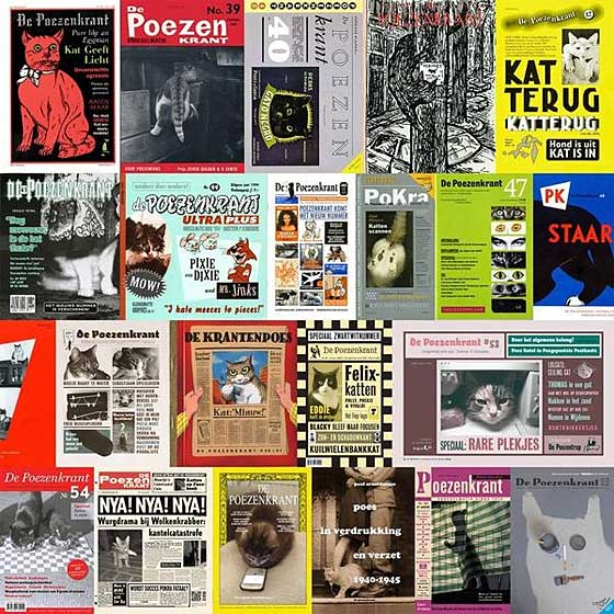 poezenkrant-covers