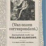 Boek over Willem Elsschot als Antwerpse correspondent voor de NRC