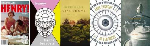 Shortlist BNG Literatuurprijs 2016