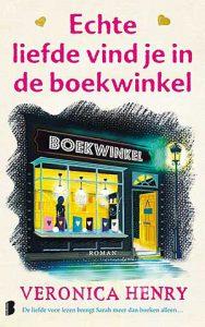'Echte liefde vind je in de boekhandel' - roman van Veronica Henry