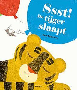 'Ssst! De tijger slaapt' van Britta Teckentrup is het Prentenboek van het Jaar 2018