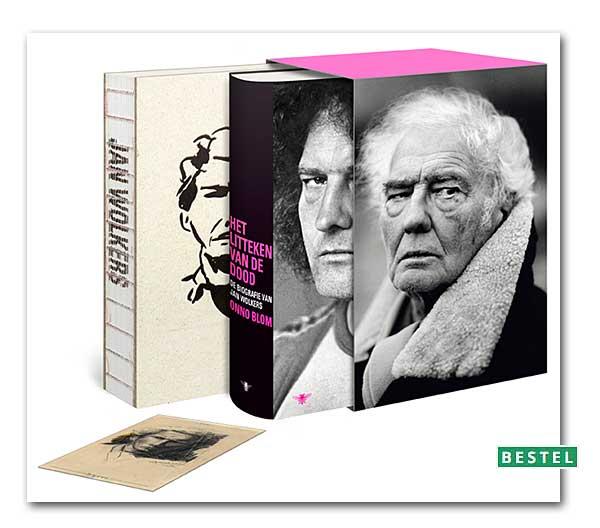 Luxe editie van 'Het litteken van de dood', de biografie van Jan Wolkers