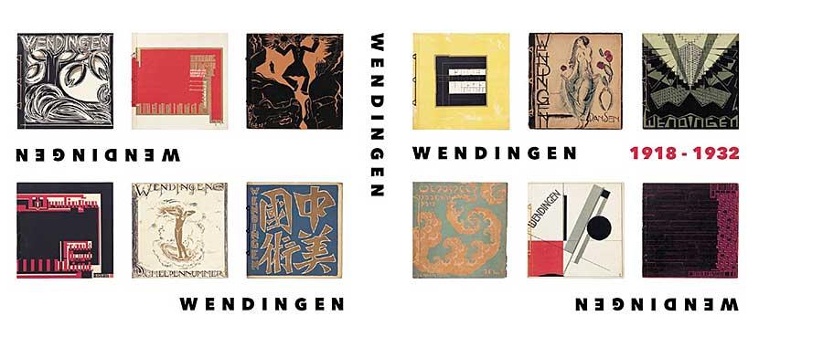 Tentoonstelling en boek over het unieke tijdschrift 'Wendingen'
