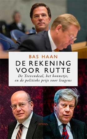 Bas Haan wint met 'De rekening voor Rutte' de Brusseprijs 2018