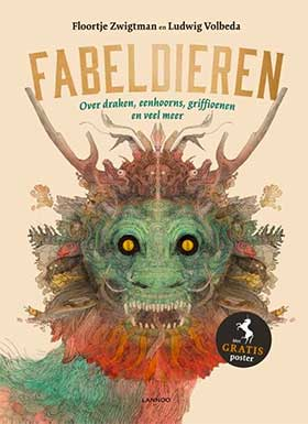 Ludwig Volbeda wint met 'Fabeldieren' het Gouden Penseel 2018