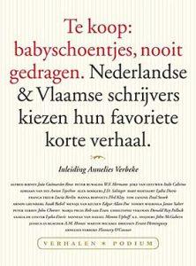 'Te koop: babyschoentjes, nooit gedragen' - schrijvers kiezen hun favoriete korte verhaal