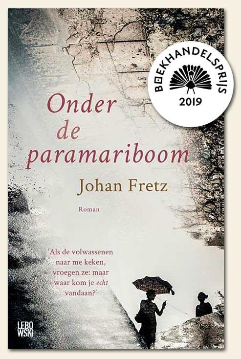 Johan Fretz wint met Onder de paramariboom de Boekhandelsprijs 2019