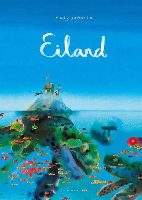 Mark Janssen wint met prentenboek 'Eiland' de Kinderboekwinkelprijs 2019