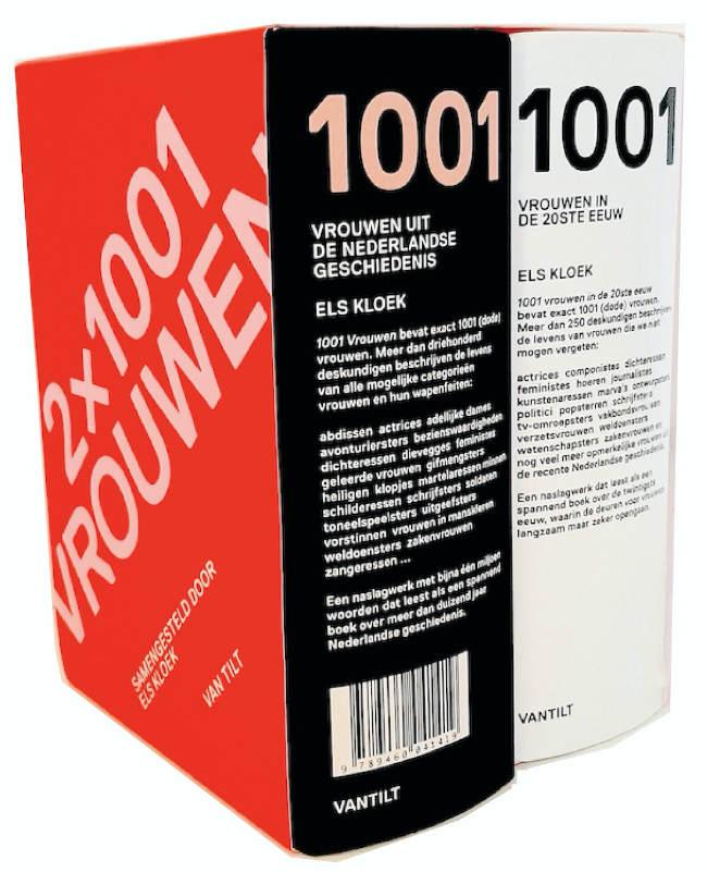 2x '1001 Vrouwen' van Els Kloek in één pakket
