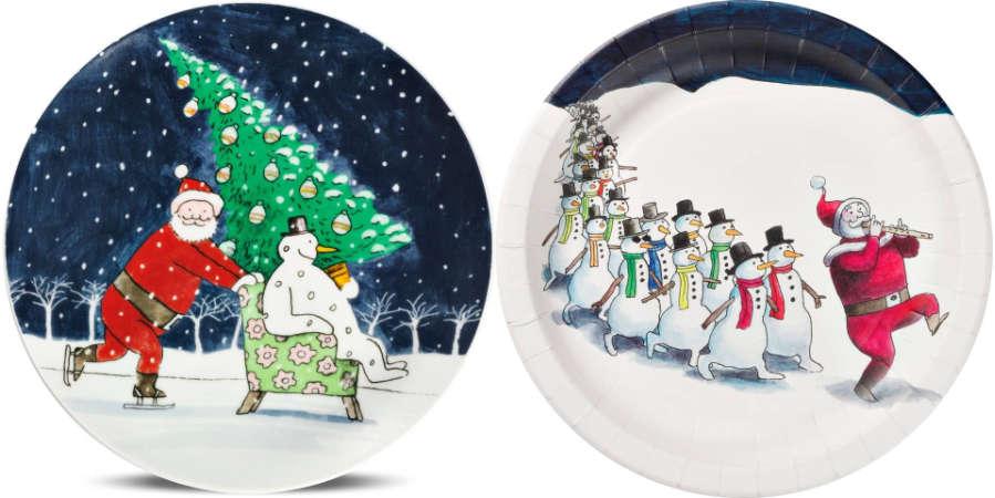 Thé Tjong-Khing tekende kersttaferelen voor Blokker