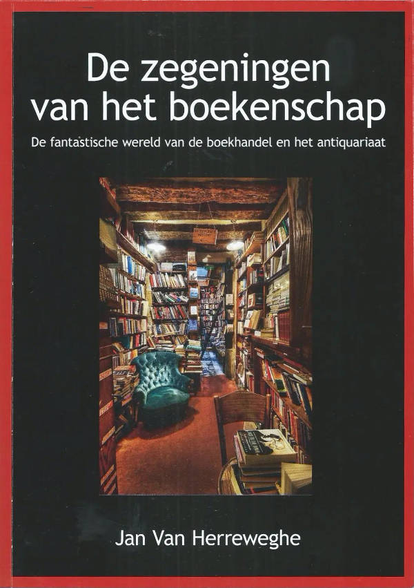 Nieuw boek van Jan van Herreweghe 'De zegeningen van het boekenschap'