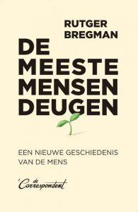 'De meeste mensen deugen' van Rutger Bregman wint de NS Publieksprijs 2020