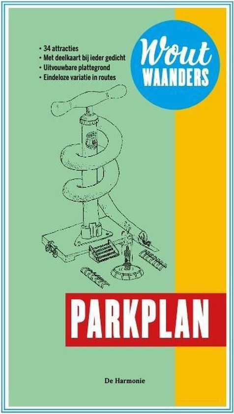 Wout Waanders wint de C. Buddingh'-prijs 2021 met poëziedebuut 'Parkplan'
